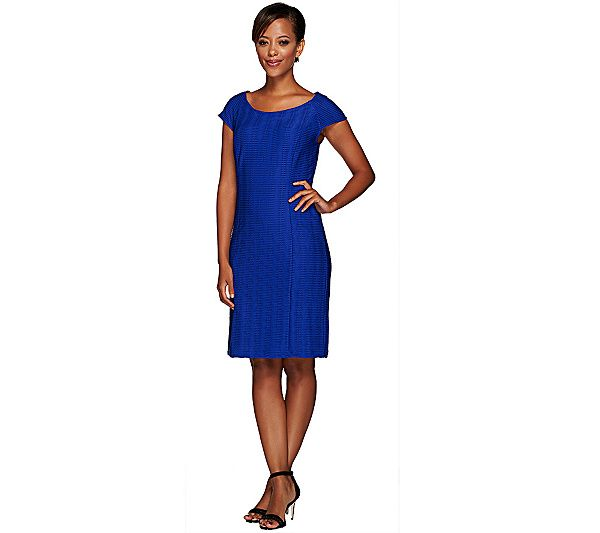 Blue dress qvc models