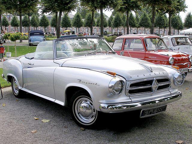 Borgward Isabella TS Cabriolet • 1961