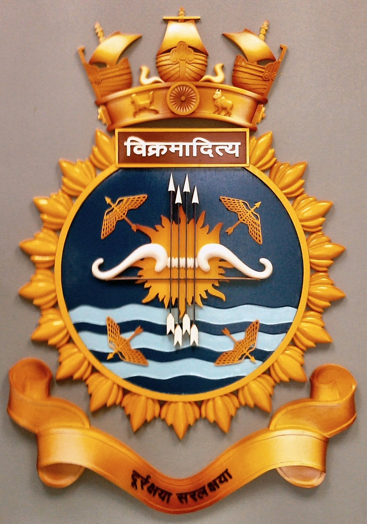 Ins Vikramaditya Insignia Military Indian Navy