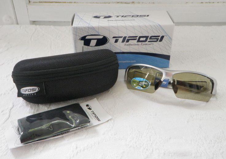 Tifosi Sunglasses Lore Gunmetal All Terrain Green Fototec Golf Biking Sunglasses #Tifosi #tifosioptics #tifosiglasses #bikingglasses #golfglasses