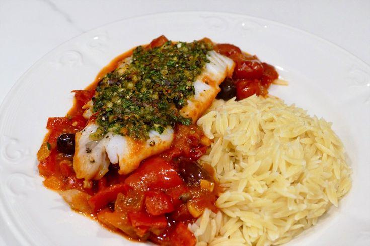 Morue (cabillaud) en croûte - Un plat simple et savoureux à réaliser avec n'importe lequel poisson à chair blanche.