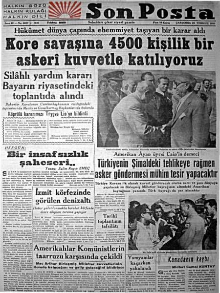1950_kore_savasina_asker_gonderiyoruz