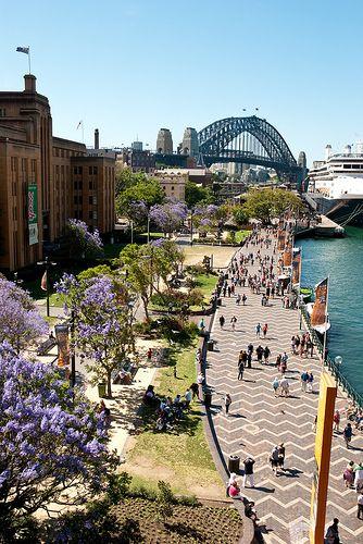 Circular Quay, Sydney   http://sidneymorgan.hubpages.com/hub/Sydney-Then-and-Now