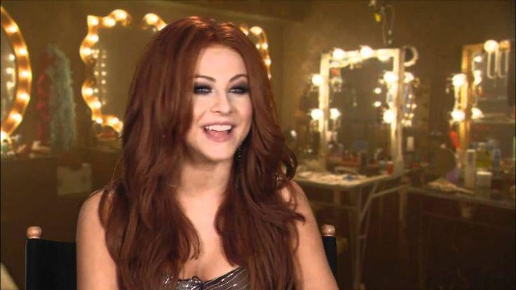 Georgia Burlesque Julianne Hough red hair