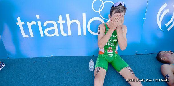 World Triathlon Grand Final photos of Bryan Keane and Aileen Reid