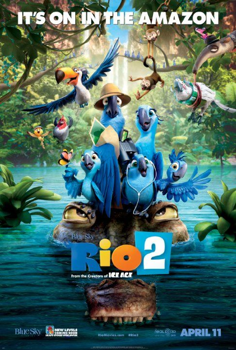 It's a jungle out there for Blu, Jewel and their three kids after they're hurtled from Rio de Janeiro to the wilds of the Amazon. As Blu tries to fit in, he goes beak-to-beak with the vengeful Nigel, and meets his father-in-law.