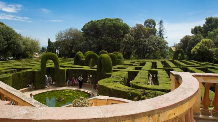 Labyrinth in Barcelona!