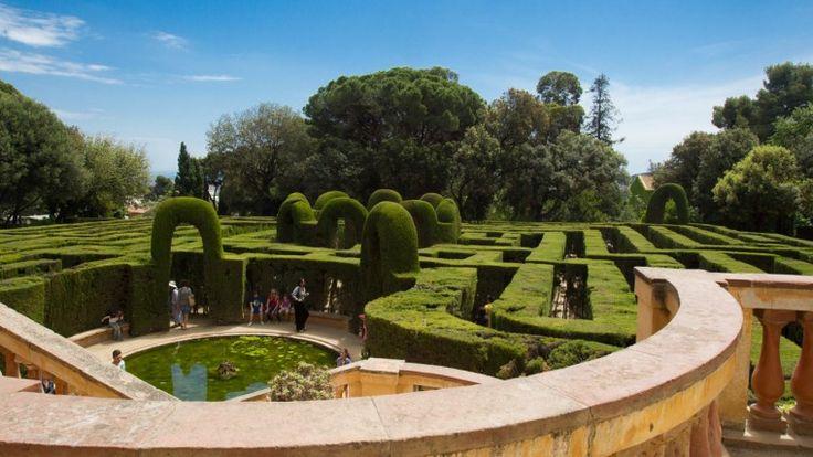 Parque del Laberinto de Horta - Mayo 2015