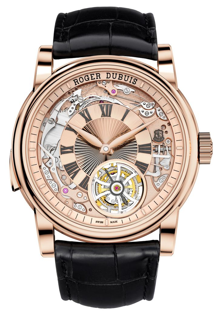 Roger Dubuis Hommage Minute Repeater Tourbillon Automatic Watch