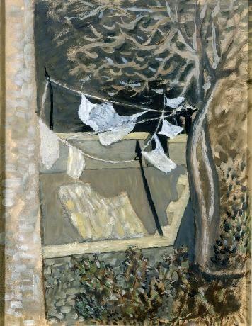 Washing Line - 1930 Nikos Xatzikyriakos-Gikas 1907-1985)