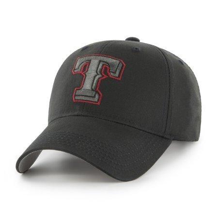 MLB Texas Rangers Black Mass Adjustable Cap/Hat by Fan Favorite