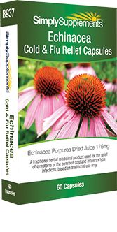 60 Capsule Blister Pack - echinacea supplement