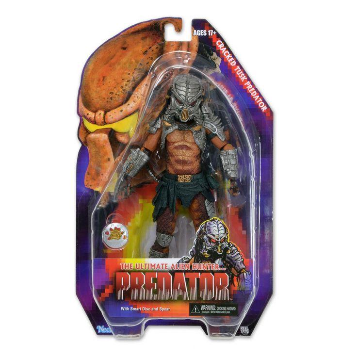 Predator Series 13 Cracked Tusk Predator Action Figure