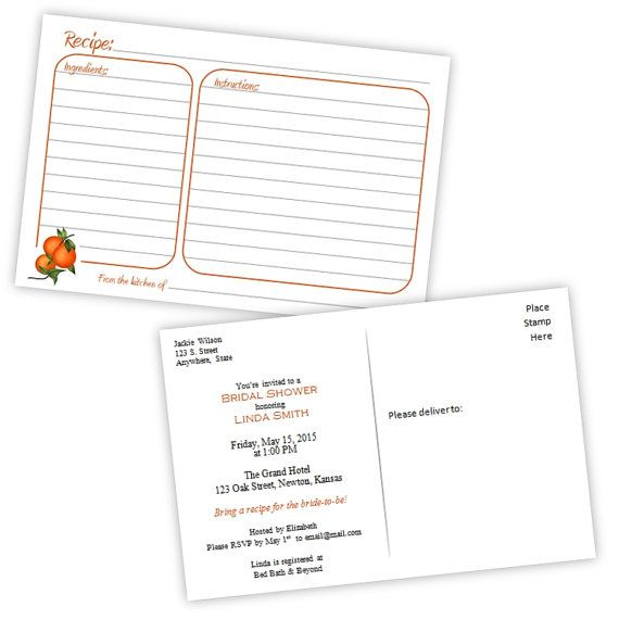 The 25+ best Recipe card format ideas on Pinterest Cookbook - free recipe card templates for word