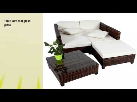 TecTake Luxury Rattan Aluminium Garden Furniture Sofa - http://news.gardencentreshopping.co.uk/garden-furniture/tectake-luxury-rattan-aluminium-garden-furniture-sofa-12/