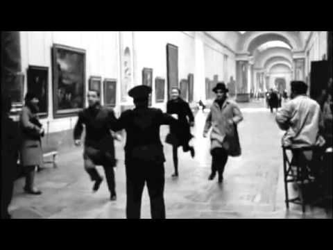 ▶ Bande à part - Run Through The Louvre - YouTube