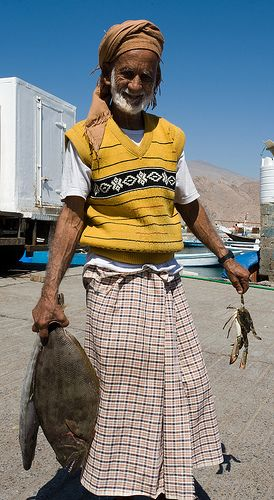 Omani Fisher Man | by Oman Tourism