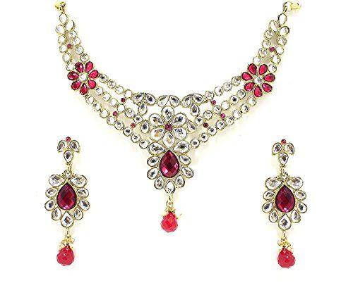 Indian BOllywood Dazzling Gold Plated Pink Stone Kundan W... https://www.amazon.com/dp/B06WP5C2TV/ref=cm_sw_r_pi_dp_x_fHaRybYAEK1MK