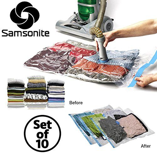 10pc Samsonite Vacuum Storage Bags Set Compress Protect Organize Clothes Bedding Samsonite http://www.amazon.com/dp/B00WANG5L8/ref=cm_sw_r_pi_dp_gO6Evb13NVPWG