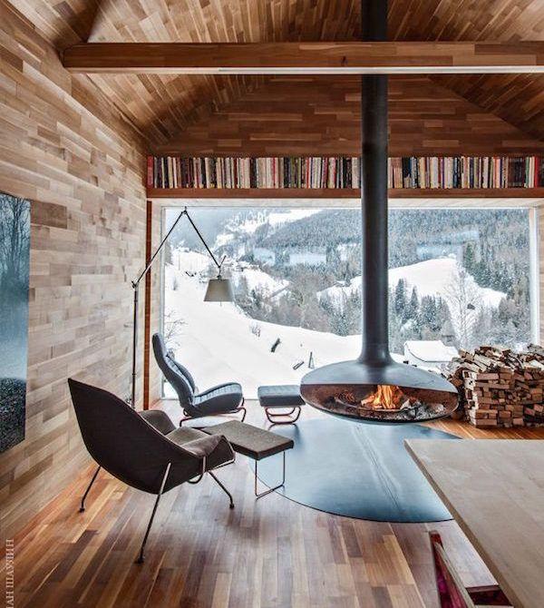 Bella casa in legno in montagna. Pin Su Arredamento D Interni