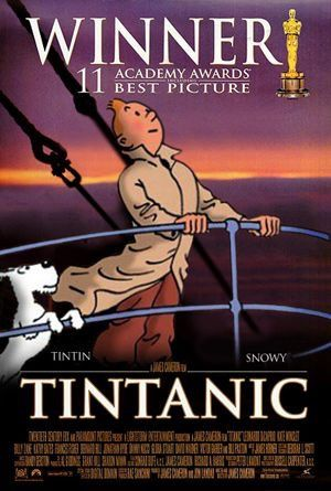 I would love to see an episode of how Tintin saves the titanic
