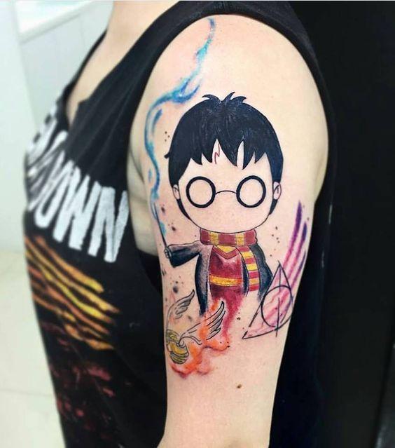 50 Wahnsinnig verrückte Harry Potter-Tätowierungen, die wirklich inspirieren