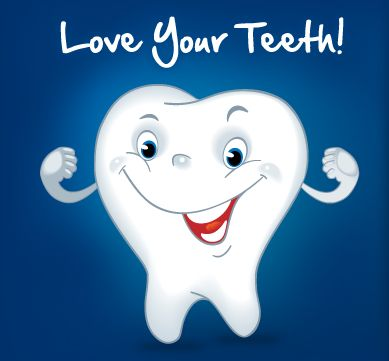 Love your teeth/smile!