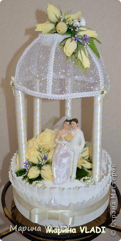 Свит-дизайн Свадьба Моделирование конструирование Свадебная беседка Бумага гофрированная фото 2
