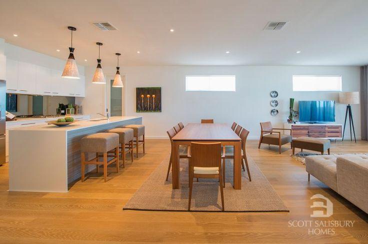 Scott Salisbury Homes HARBOR kitchen/dine/living image/photo