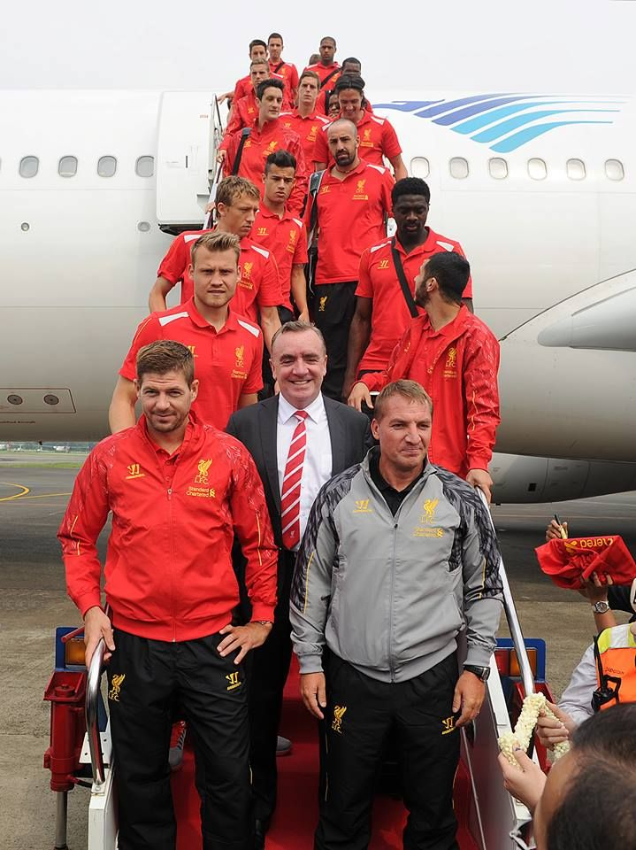 Liverpool Football Club have touched down in Indonesia for the very first time!