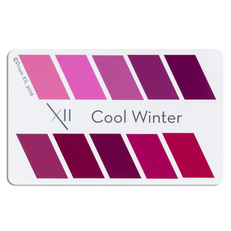 """A credit card sized card showing 10 perfect lipstick colors for your seasonal tone 2""""x 3"""" presented in a clear plastic sleeve for protection Pop it in your wallet, with your credit cards, and never be without an accurate color swatch to use when purchasing a new lipstick The colors presented on these cards are not representative of specific lipstick brand colors"""