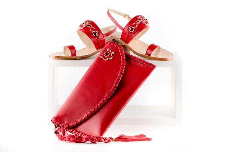 Borse e sandali in pelle e applicazioni soutache http://www.mabibijoux.it/site/