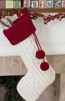Knit Cable Stocking  http://www.redheart.com/free-patterns/knit-cable-stocking?utm_source=WhatCounts+Publicaster+Edition_medium=email_campaign=Week+11+of+the+12+Weeks+of+Christmas+Patterns_content=http%3a%2f%2fwww.redheart.com%2ffree-patterns%2fknit-cable-stocking#