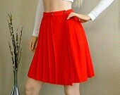 Red Mini Kilt