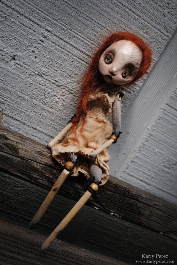 Six Art Doll by CheekieBottoms on Etsy