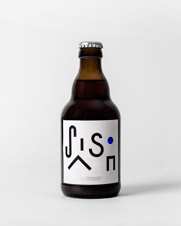 St Erhard by Bedow, Sweden. #beer #branding #packaging