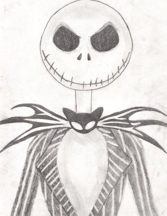 nightmare before christmas | Skeleton drawings, Halloween ...