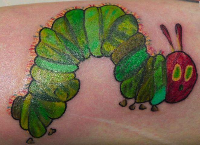 The very hungry caterpillar tattoo!