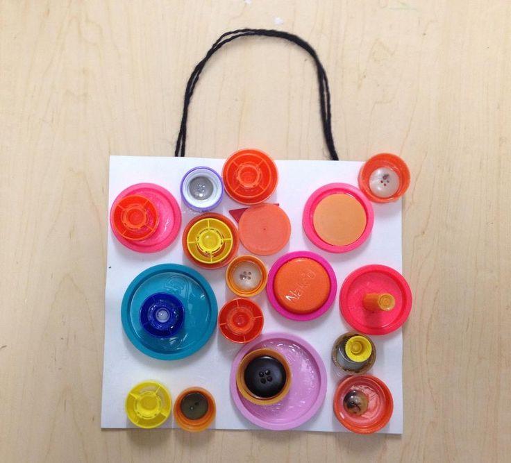 Reggio Children Inspired — Cap, Caps, and more Caps. Collecting and sorting...