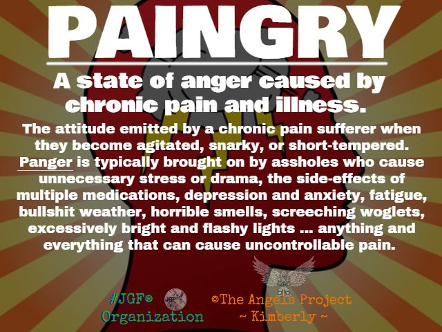 Life with chronic pain | Paingry - what does it mean to someone with chronic pain?