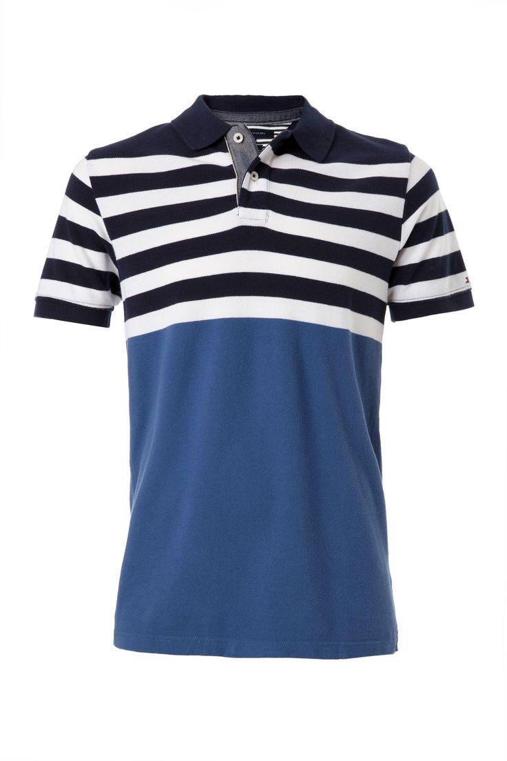 86 best images about stripes on pinterest t shirts men for Tommy hilfiger fitzgerald striped shirt