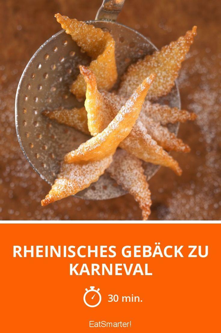 Rheinisches Gebäck zu Karneval - smarter - Zeit: 30 Min.   eatsmarter.de