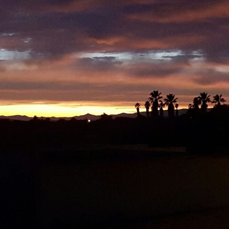 Sunrise, West Coast, South Africa