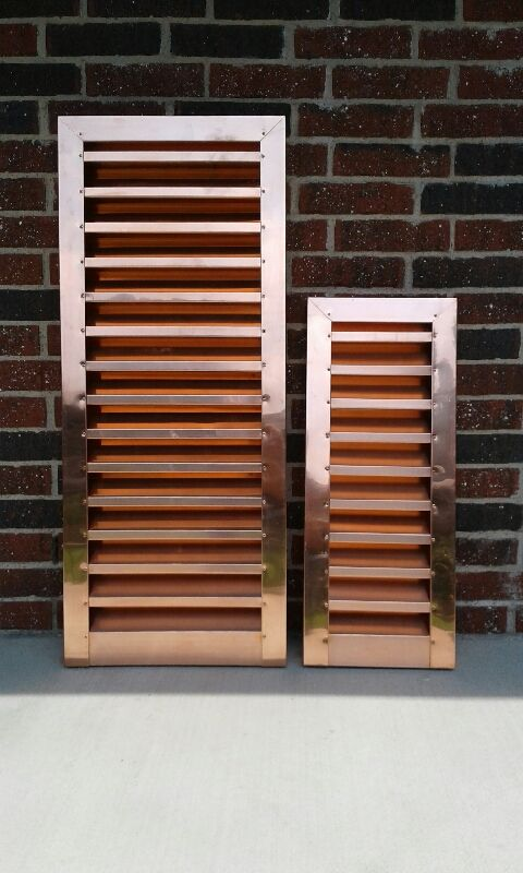 22 Best Copper Louver Wall Vents Images On Pinterest