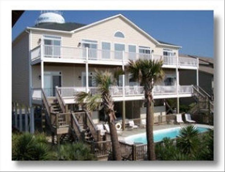 Ocean Isle Beach Vacation Rental - VRBO 185593 - 12 BR Southern Coast House in NC, Beach Front 12 BR/12 BA Sleeps 32 Heated Pool Great Bible Studies Weddings