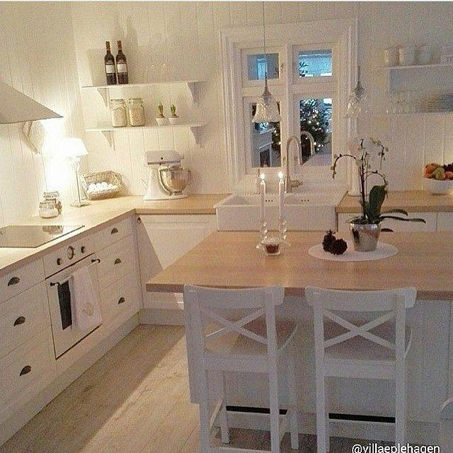 arbeitsplatte holz on pinterest u k che mit tresen l k che mit. Black Bedroom Furniture Sets. Home Design Ideas