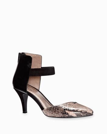 Ankle strap mid-heel pump Fall 2013 Collection