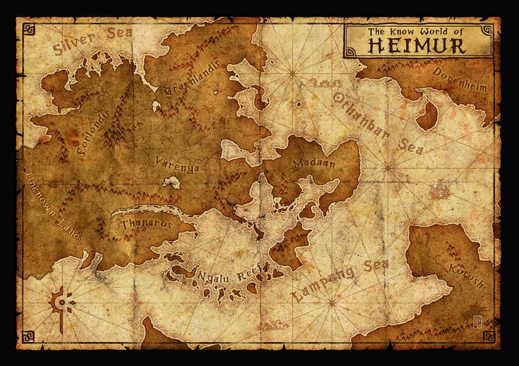 The Cartographers Guild has a bunch of beautiful images for map inspiration