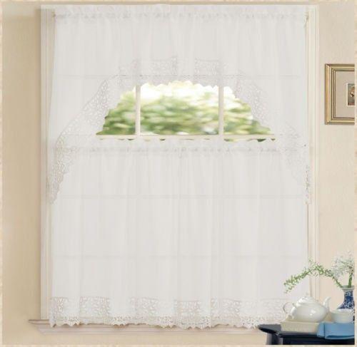 Yli tuhat ideaa: Kitchen Curtain Sets Pinterestissä | Verhot