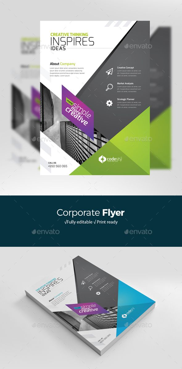 Creative Business Flyertemplate Is Editable Text Logo Colour Resizable Scalable Vector Based Design Business Flyer Templates Corporate Flyer Business Flyer
